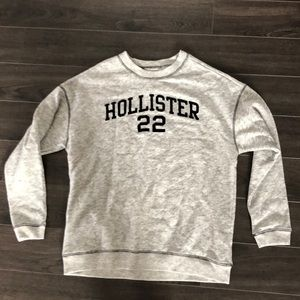 Hollister light weight sweatshirt material